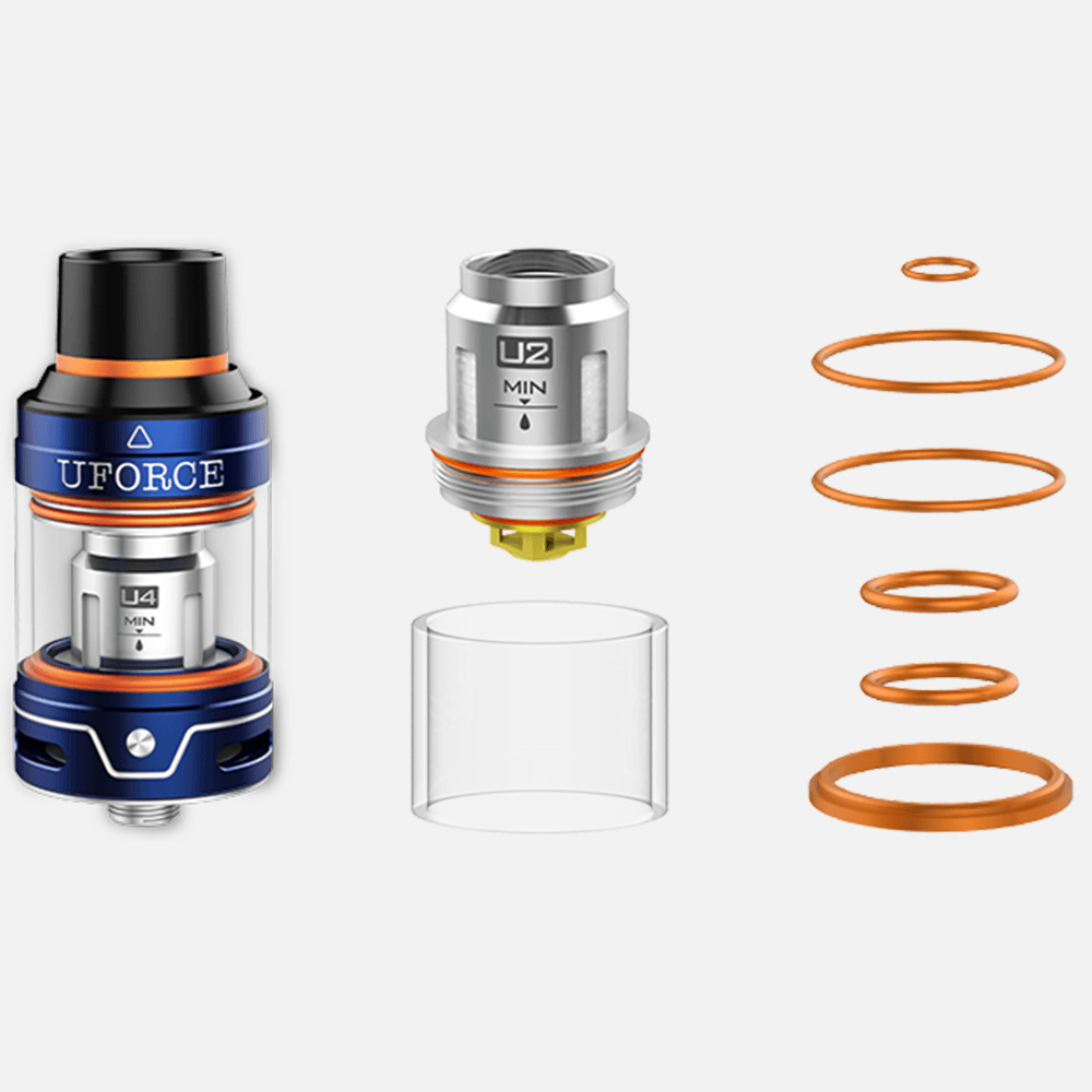 VooPoo UFORCE Atomizer - 3.5ml - hardware - Urban Vape & CBD
