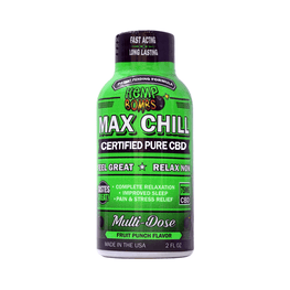 Urban Vape & CBD - Hemp Bombs - CBD Max Chill Relaxation Shot (12 Bottles per Sleeve)