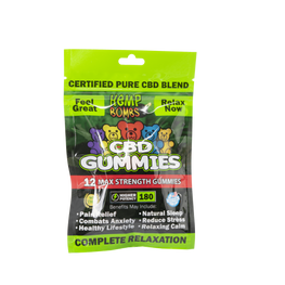Hemp Bombs - 12 Count CBD Gummies (12 Bags per Sleeve) - juice - Urban Vape and CBD