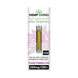 Hemp Living CBD Cartridge - Fruity Pebbles OG