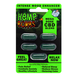 Urban Vape & CBD - Hemp Bombs - 5 Count CBD Capsules (12 Units per Sleeve)
