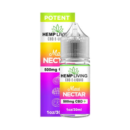 Hemp Living - CBD E-Liquid - Maui Nectar - 30ML - juice - Urban Vape and CBD