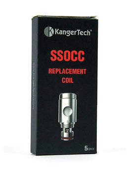 Urban Vape & CBD - Kangertech - (1x) Single SSOCC Replacement Coil - (Add 5 For Full Pack)