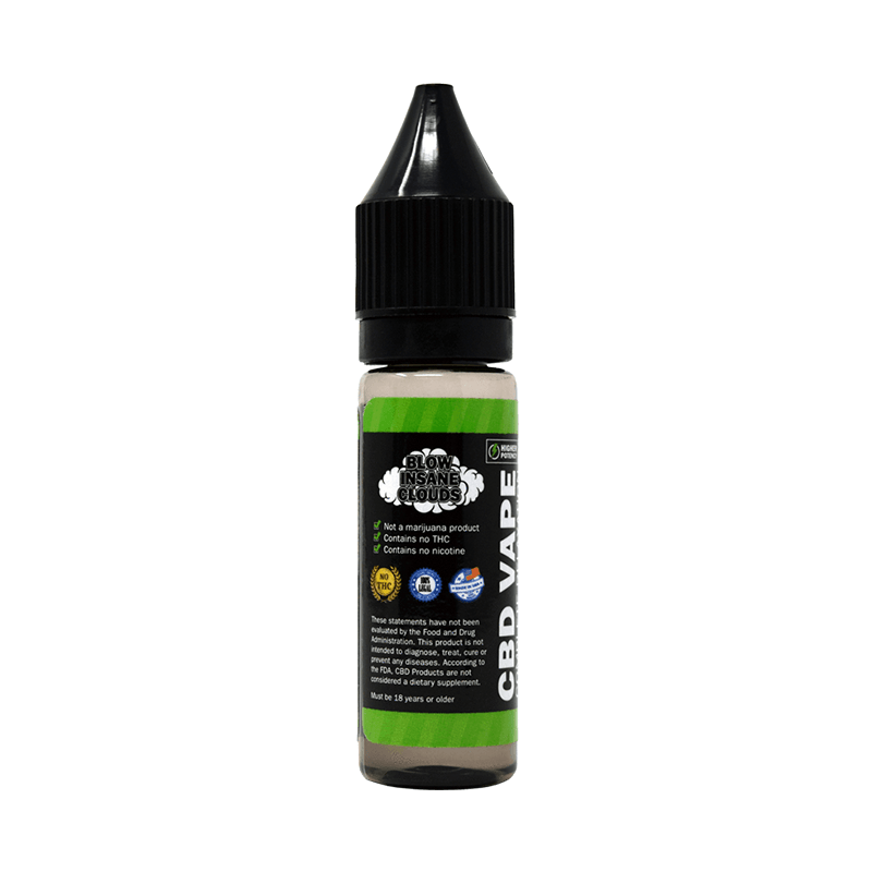 Urban Vape & CBD - Hemp Bombs - 75mg CBD E-Liquid - Arctic Spearmint Blast - 16.5ml (12 Bottles per Sleeve)