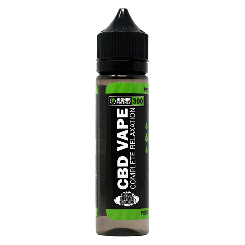 Urban Vape & CBD - Hemp Bombs - 300mg CBD E-Liquid - Whipped Marshmallow Dream - 60ml (6 Bottles per Sleeve)