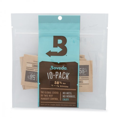 Boveda 58% 4g (1) 10 COUNT PACK