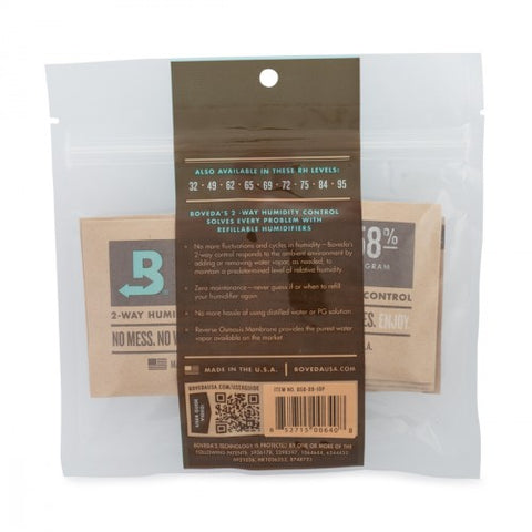 Boveda 58% 8g 10 COUNT PACK