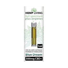 Hemp Living CBD Cartridge - Blue Dream