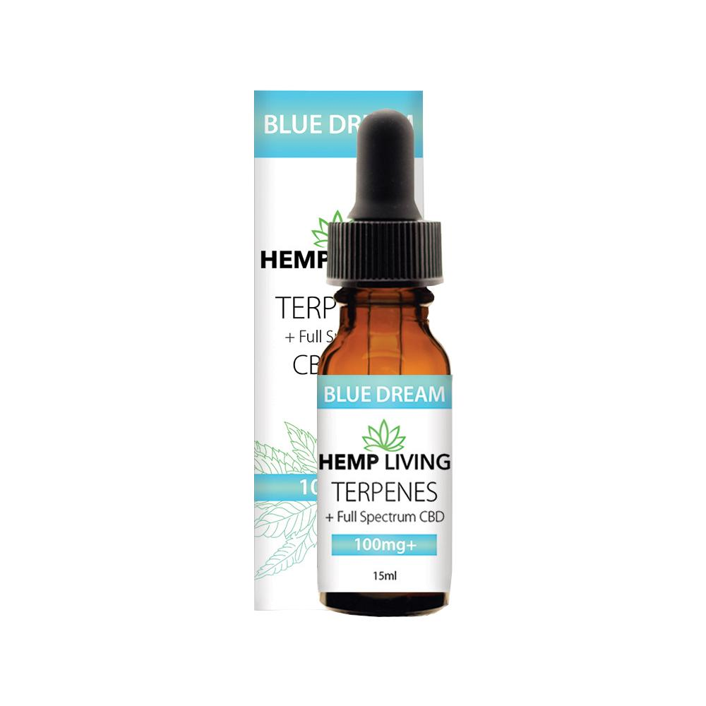 Hemp Living CBD Terp - Blue Dream