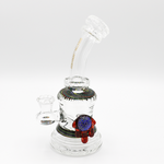 "8""Inch Bend Matrix Perc Glass Water product by Bougie Glass"