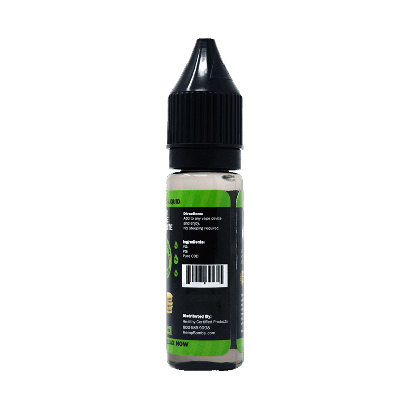 Urban Vape & CBD - Hemp Bombs - 75mg CBD E-Liquid - Whipped Marshmallow Dream - 16.5ml (12 Bottles per Sleeve)