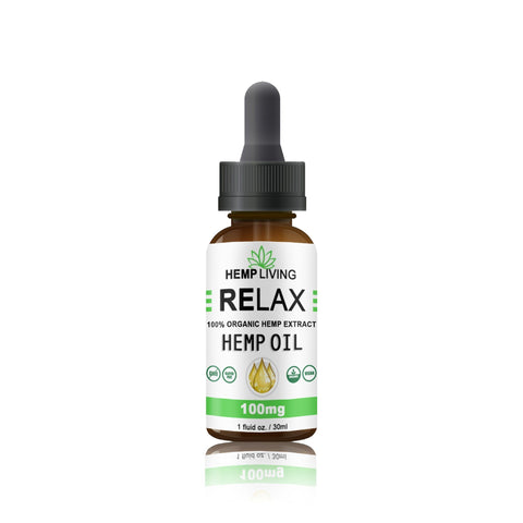Urban Vape & CBD - Hemp Living - CBD Oil - 100MG