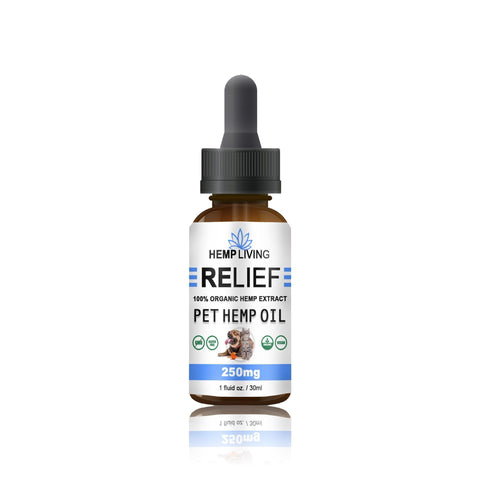 Urban Vape & CBD - Hemp Living - CBD Pet Oil - 250MG