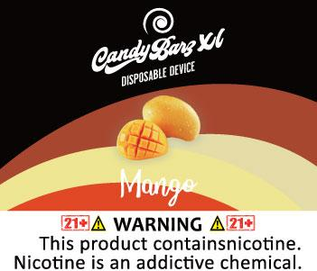 Candy Barz XL Disposable Device 5% Salt Nic