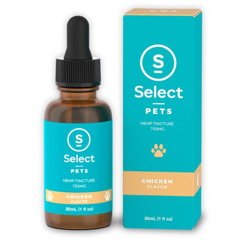 Select CBD - Pet Drops - Chicken - 750MG