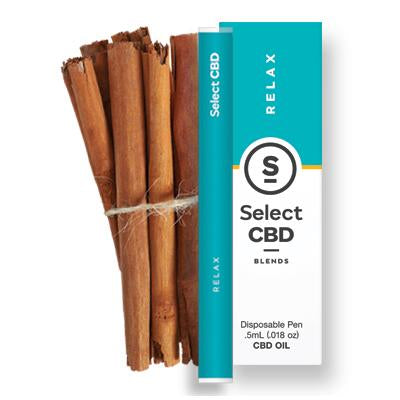 Select CBD - Cinnamon Vape Pen - 250MG