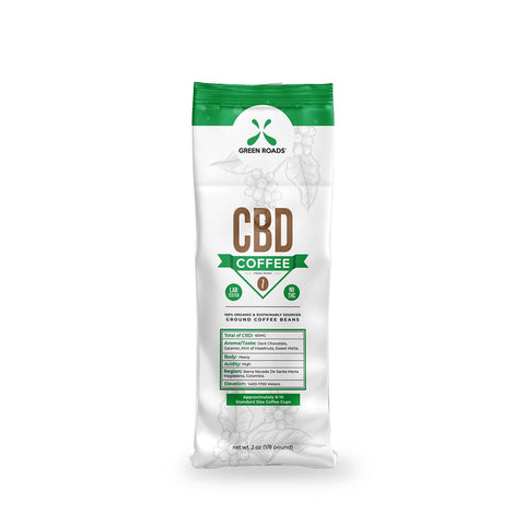 2 oz cbd coffee by green roads