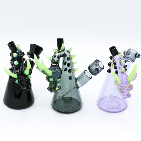 Dragon Design Bend Beaker Style Waterpipe