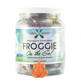 Urban Vape & CBD - Green Roads - CBD On the Go Froggie Drum - 25MG