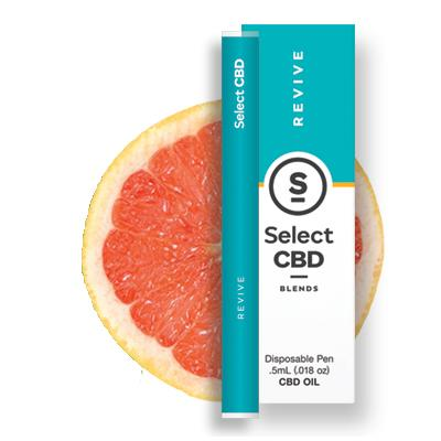 Select CBD - Grapefruit Vape Pen - 250MG