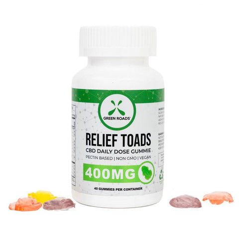 Green Roads CBD Relief Toads 400mg – 40 count