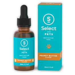 Select CBD - Pet Drops - Peanut Butter - 750MG
