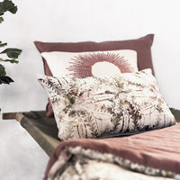 coussin collection terracotta bianka leone made in france textile decoration haut de gamme ecoresponsable