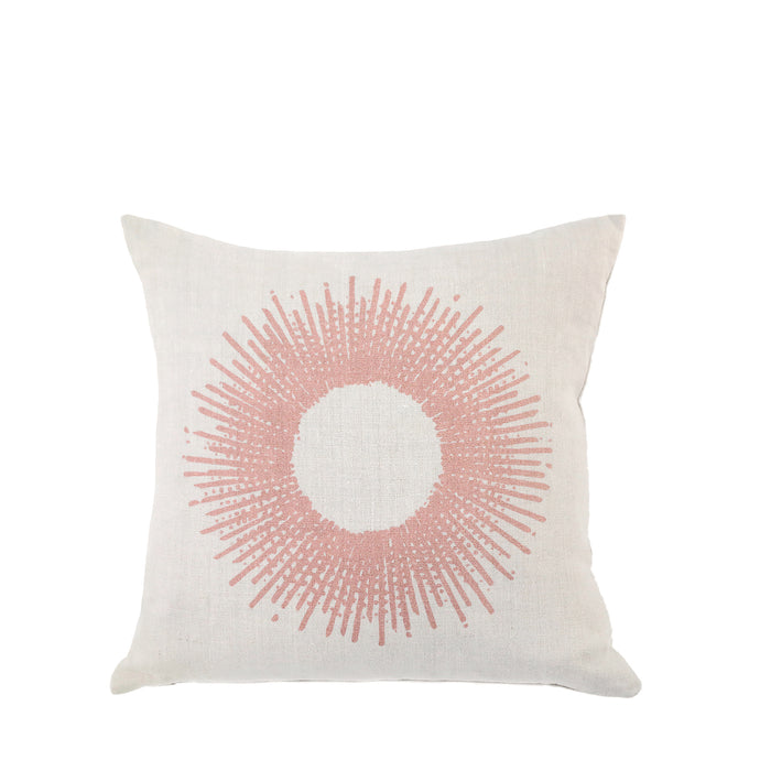 Coussin en lin made in France SOLEIL NUDE - Bianka Leone