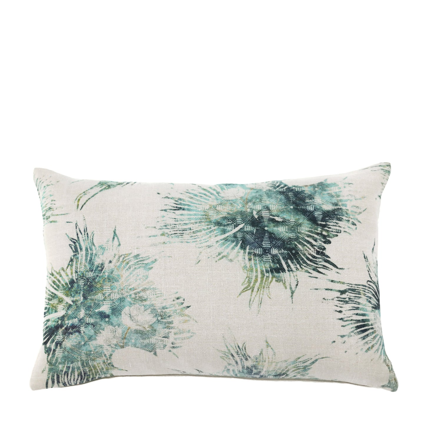 Coussin en lin made in France  ALGUES MARINES - Bianka Leone