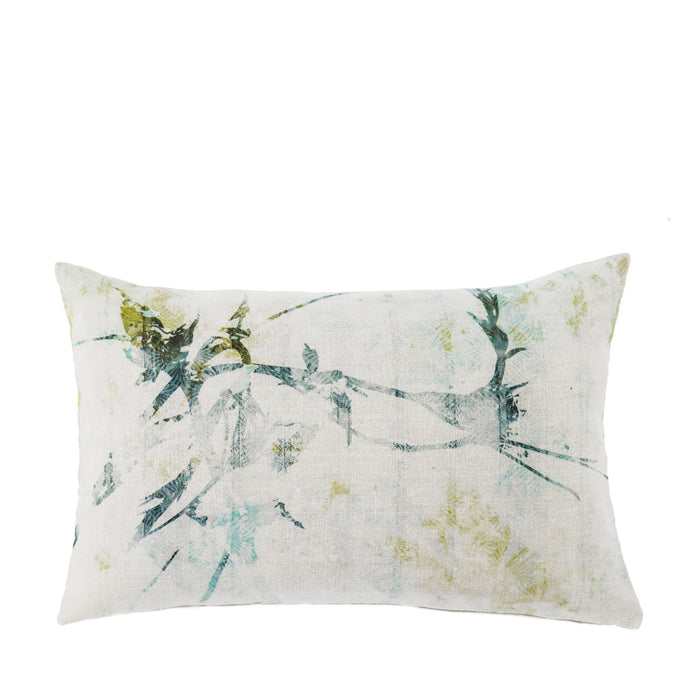 Coussin en lin made in France JARDINS SUSPENDUS - Bianka Leone