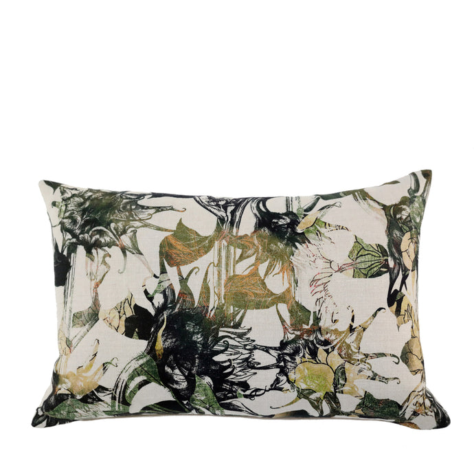 Coussin en lin made in France TOURNESOLS - Bianka Leone