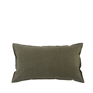 Coussin en lin made in France KAKI - Bianka Leone
