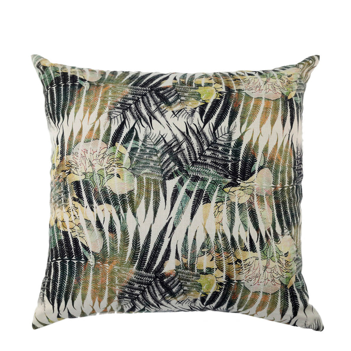 Coussin de sol en lin made in France FOUGERES A PLUMES - Bianka Leone