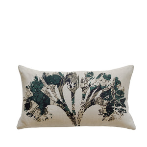 Coussin en lin made in france FLORAISONS - Bianka Leone