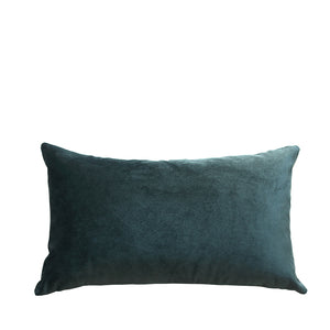 Coussin en velours et lin made in France PAON - Bianka Leone