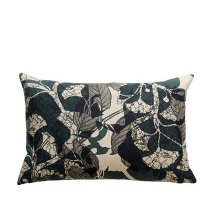 Coussin en lin made in France GINKGO BILOBA - Bianka Leone