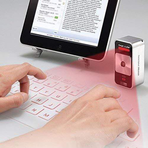 Bluetooth Laser Keyboard and Mouse.