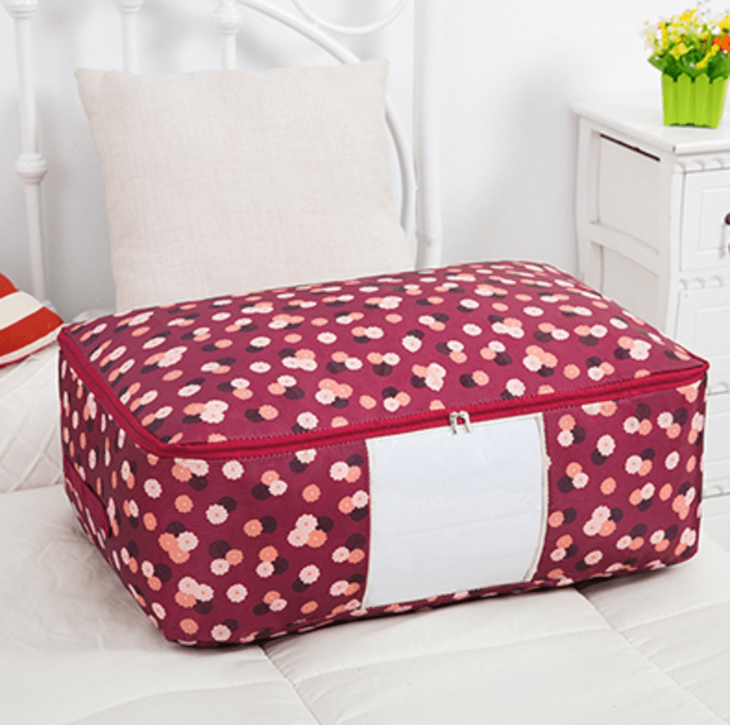 Blushbees® Waterproof Portable Storage Bags for Winter Clothes, Bed linens, Blanket etc.