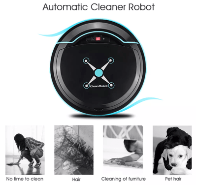 CleanRobot® The Automatic Smart Vacuum Cleaner/Sweeper Robot