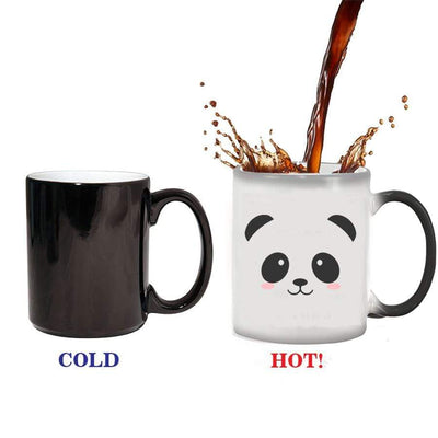 Cute panda color changing Mug.