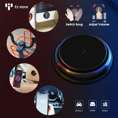 Ez More® Wireless Bluetooth Gesture Multimedia Controller / Hand Control AI Tech for Car/Home/Office