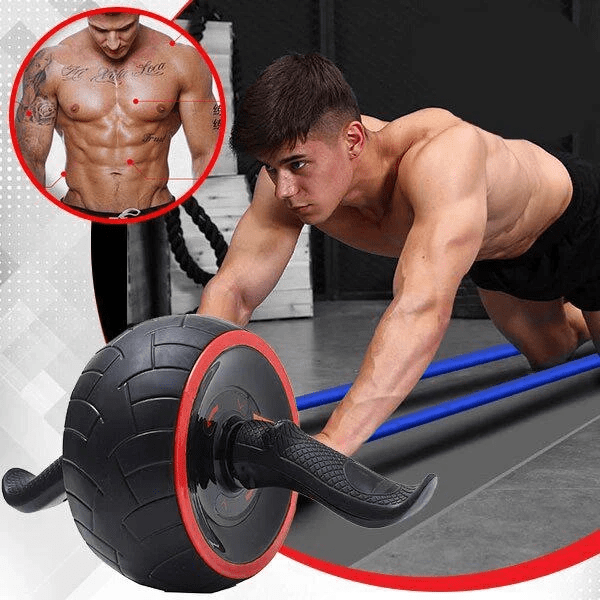 Fitsy® Ab Roller Workout Muscle Abdominal Abs Gym Stable Exerciser