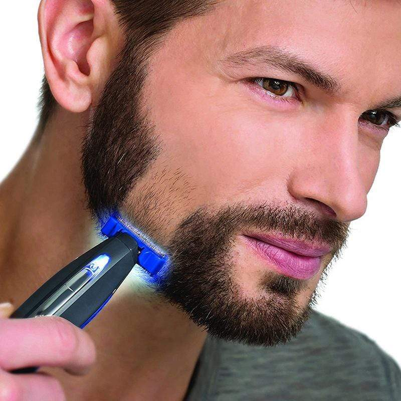 MicroSolo™ Rechargeable 3 in 1 Trim Electric Shaver