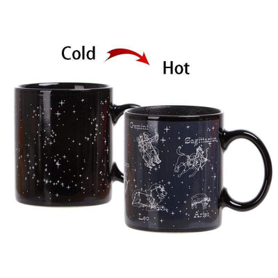 Moon Mystr Hidden Constellations Zodiac Mug.
