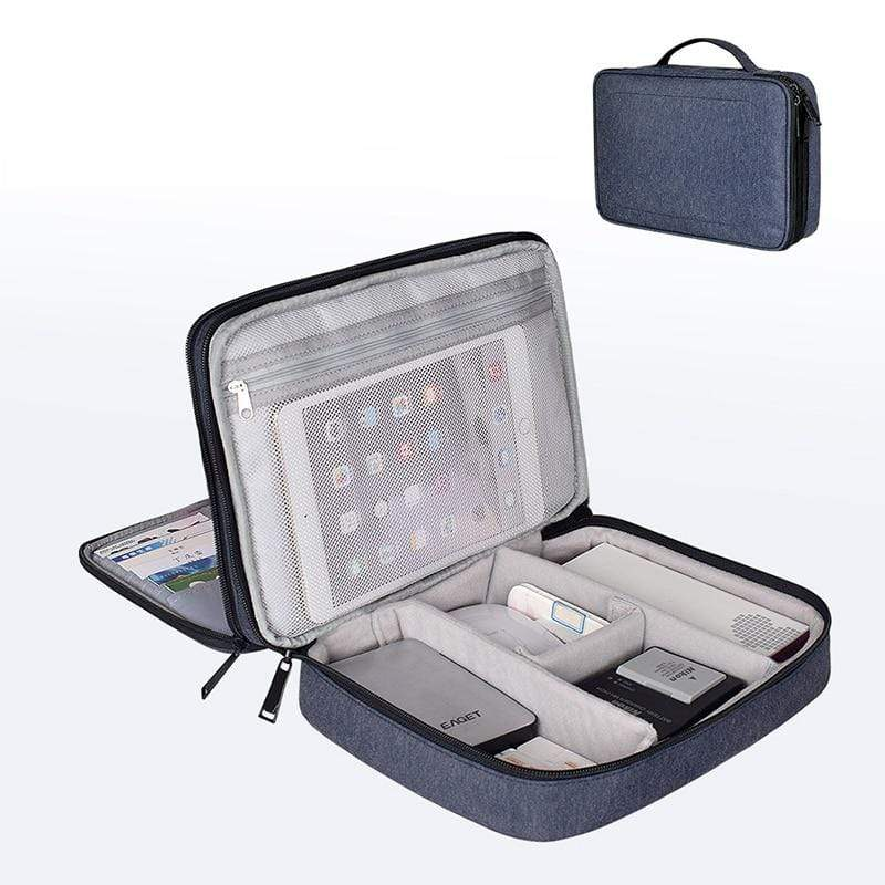 ONEUP® Waterproof 2 Layer Travel Storage Bag Compatible With iPad