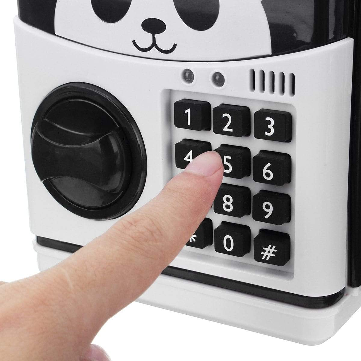 Panda Electronic Piggy Bank ATM Password Money Box.