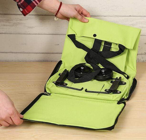 Portable Folding Shopping Bag + Handbag