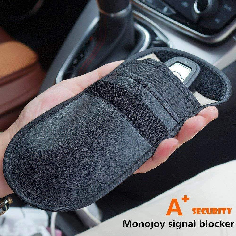 RFID Protection Car Key Holder - Signal Blocker Bag