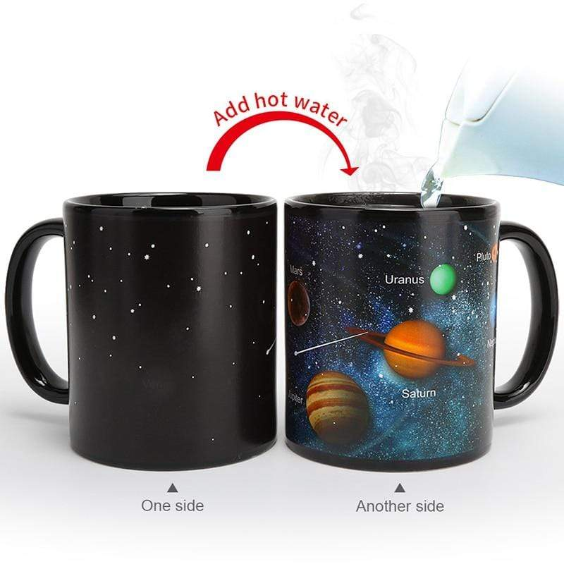 Solar system Magic Color Changing Mug