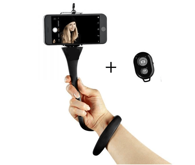 Supreme® Flexible Selfie Stick For Mobile Phone & GoPro